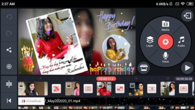 Photo of How to make birthday video with photo in kinemaster | Birthday video Template