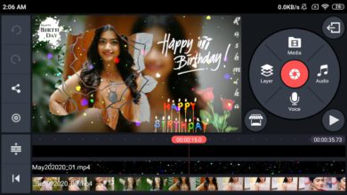 Photo of Birthday Video Maker In Kinemaster | Happy Birthday Kinemaster Video Editing | Birthday Template No2