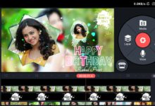 Photo of Birthday video editing in kinemaster | Happy birthday green screen video | Aveplayer template