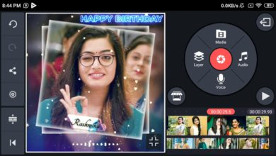 Photo of Birthday Video Maker In Kinemaster | Happy Birthday Video Editing | Fast forward | Template Video