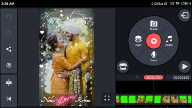 Photo of Wedding Anniversary video editing kinemaster | Marriage Anniversary video green screen Template
